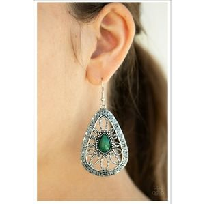Floral Frill Earrings